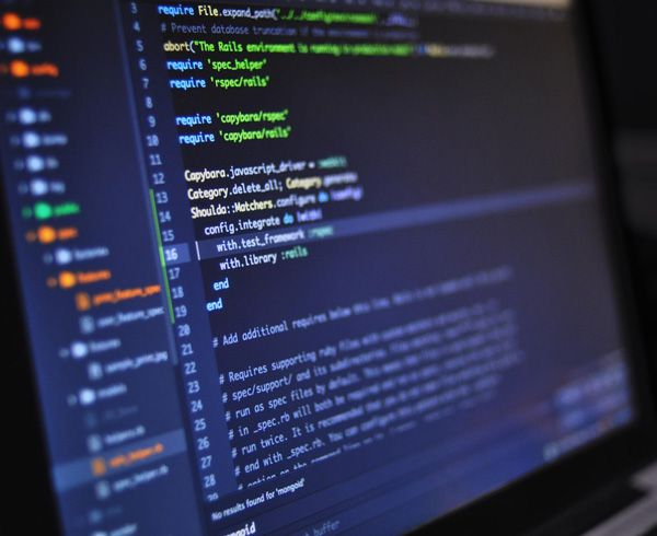 ICT4Industry Slovenia Ljubljana Blur Close Up Code Computer